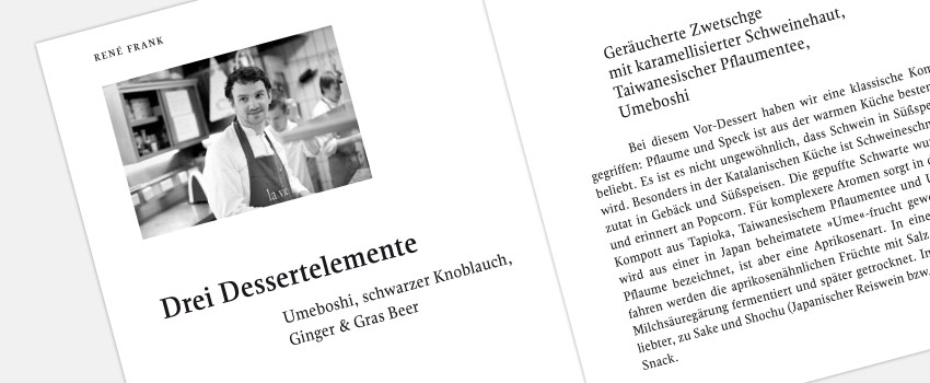 journal culinaire No. 17, 2013